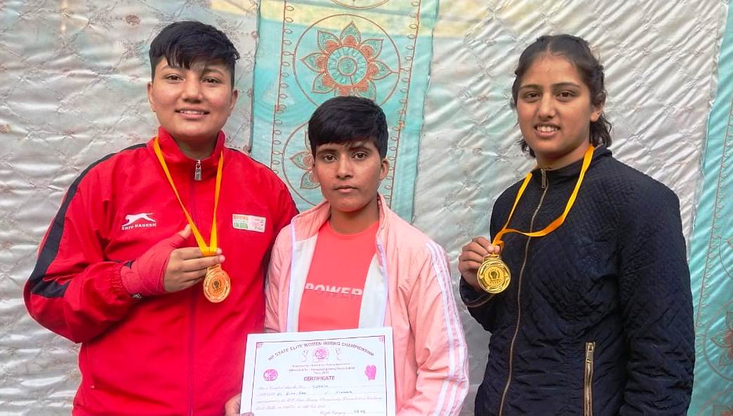 किन्नौर की बेटियोंने कुल्लू में आयोजित राज्य स्तरीय मुक्केबाजी प्रतियोगिता में झटके 3 गोल्ड व 1  रजत मेडल